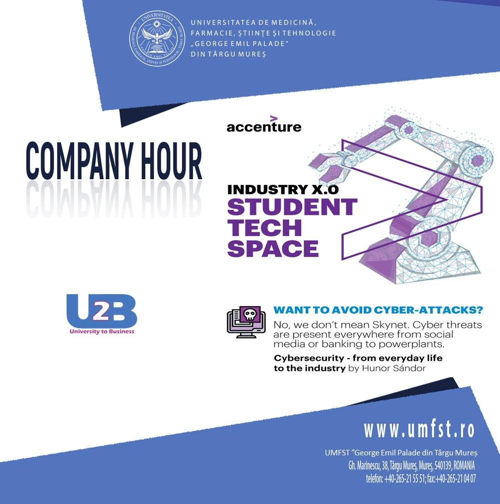 """UMFST """"G.E. Palade"""" & Accenture"""